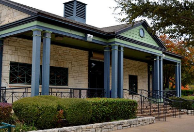 The clubhouse at Tenison Park Golf Course in Dallas